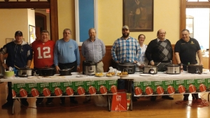 3rd Annual Chili Cook Off participants