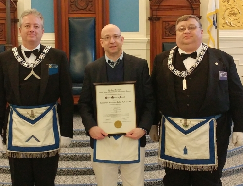 Norumbega Fraternity Lodge Receives Grand Master's Award